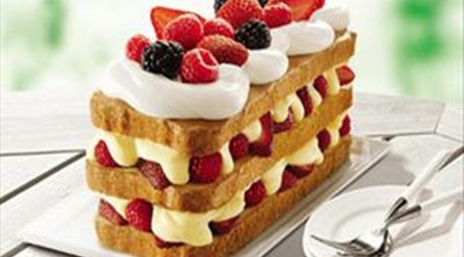 Berry Bliss Cake