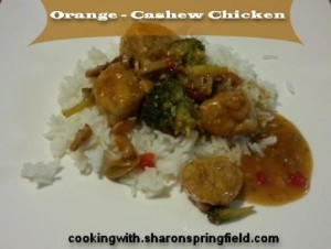 Orange Cashew Chicken Recipe