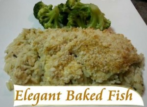 Elegant Baked Fish