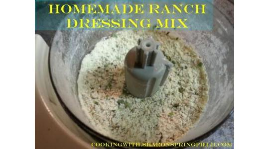 Ranch Dressing Mix 2