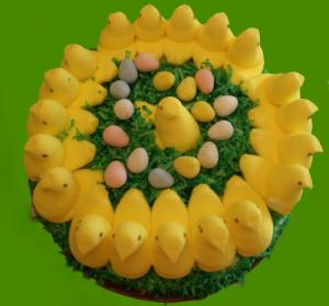Easter Peep Cake