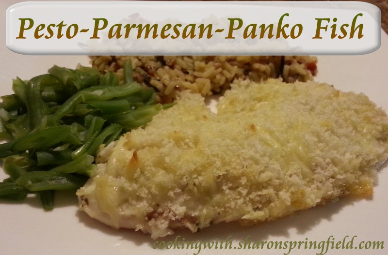 Pesto Parmesan Panko Fish