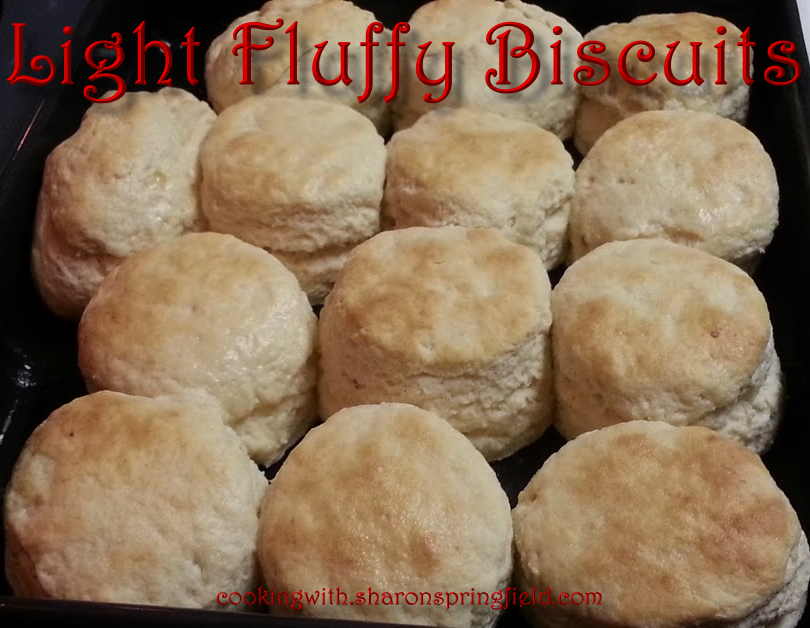 Light Fluffy Biscuits