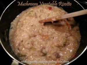 Mushroom Vegetable Risotto