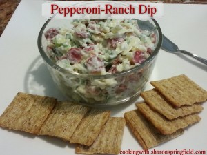 Pepperoni Ranch Dip