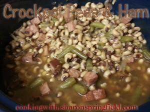 Crockpot Field Peas & Ham