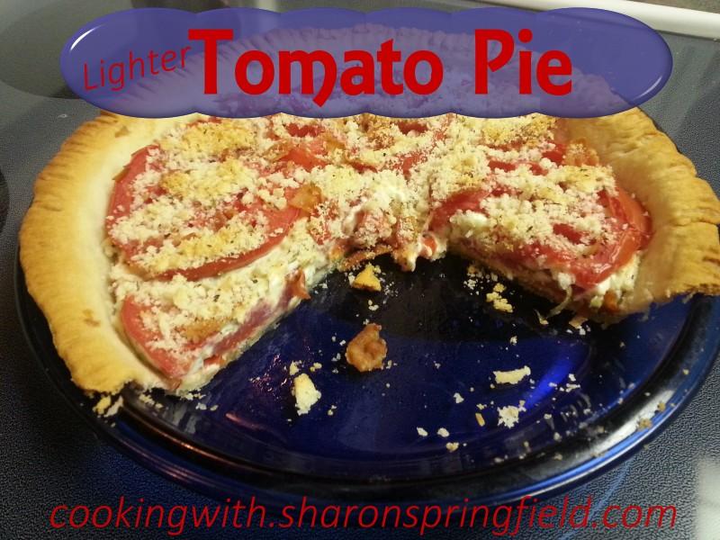 Lighter Tomato Pie