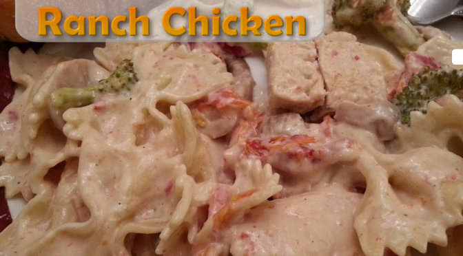 Crockpot Ranch Chicken