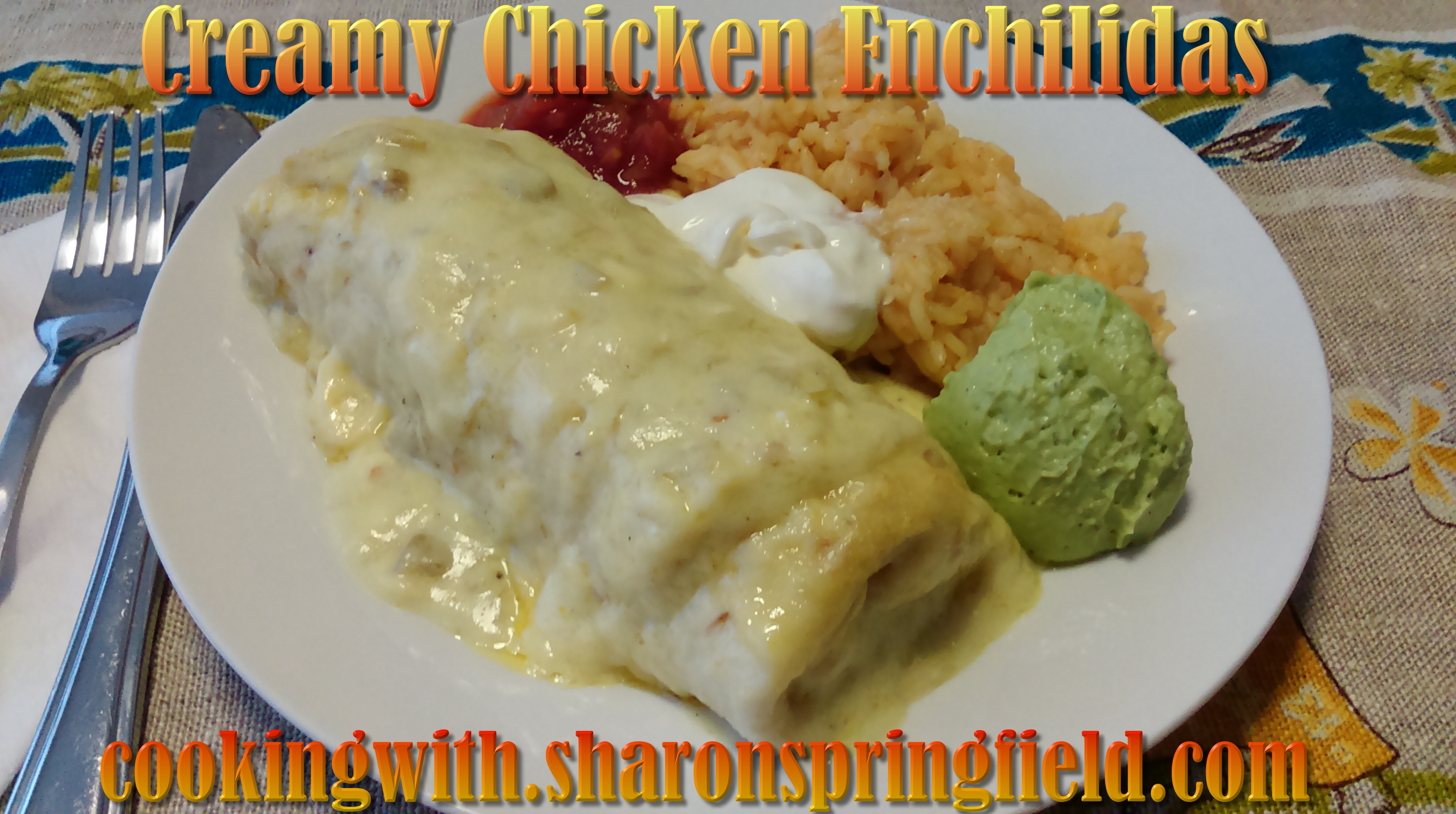 Chicken Enchilidas