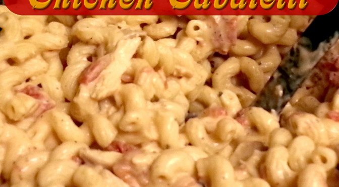 Creamy Chicken Cavatelli