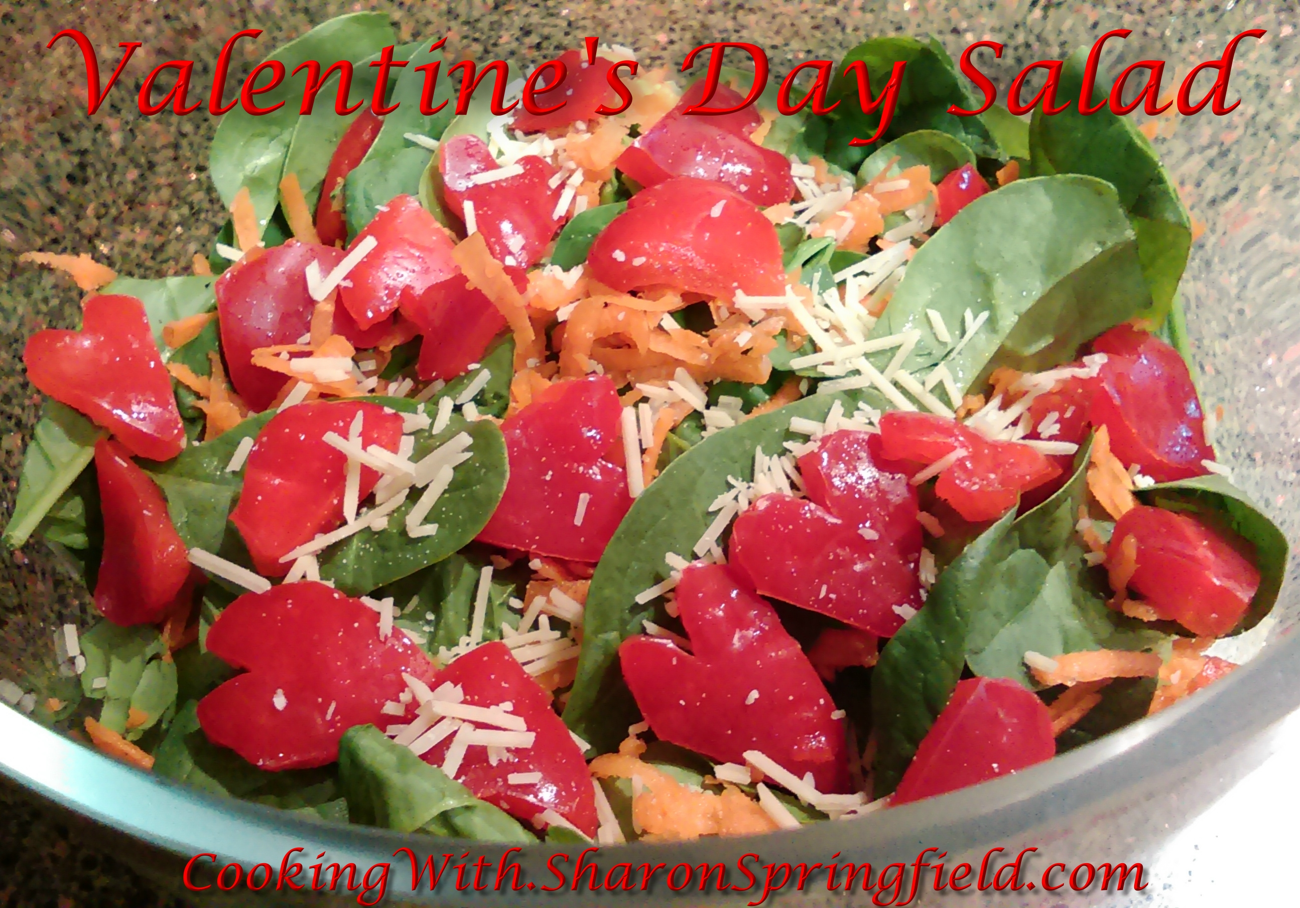 Valentine's Day Salad