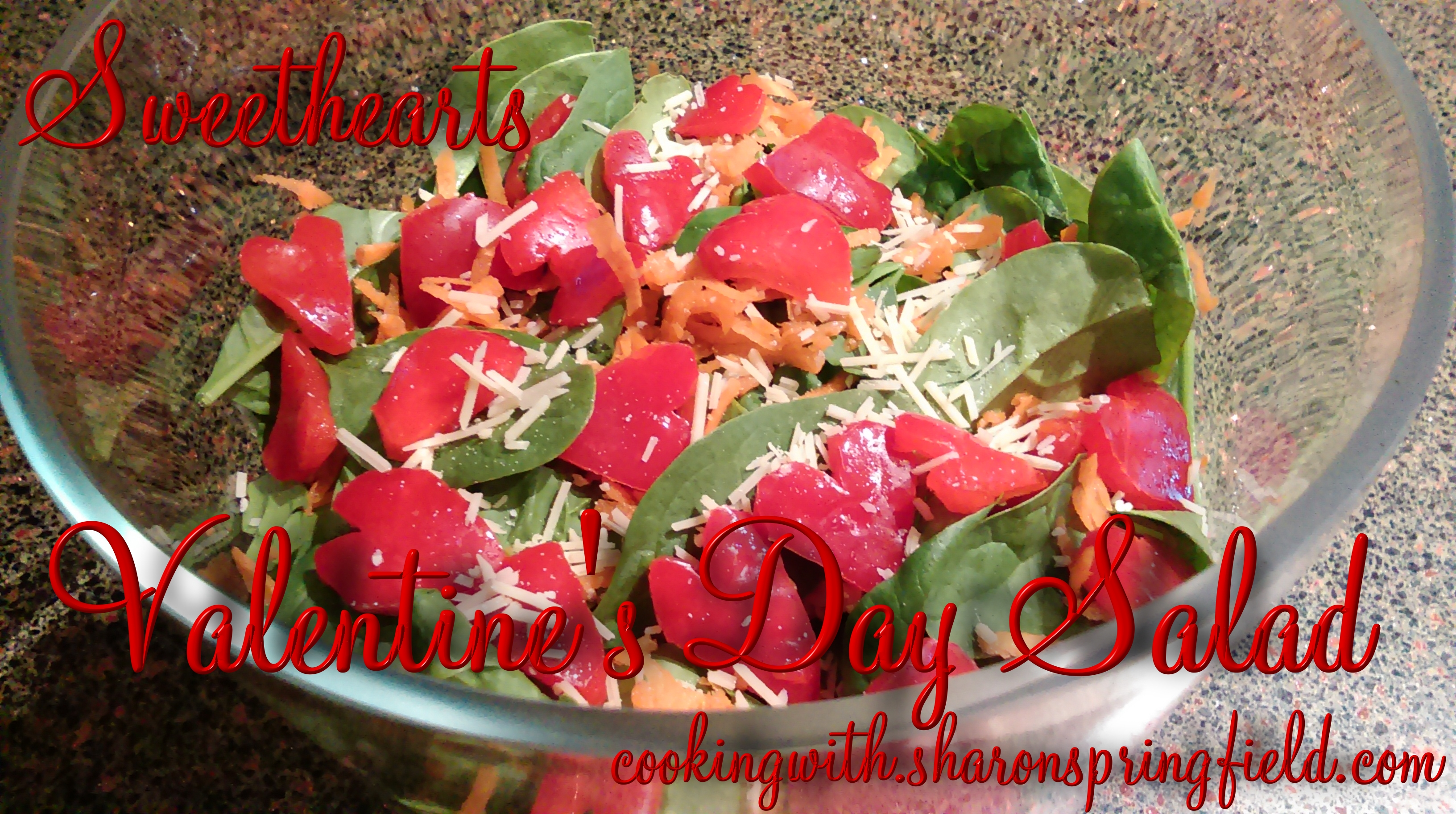 Sweethearts Valentine's Day Salad